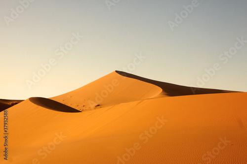 Poster Morocco Merzouga desert - Marocco