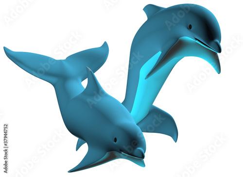 Poster Dolfijnen Dolphin 02