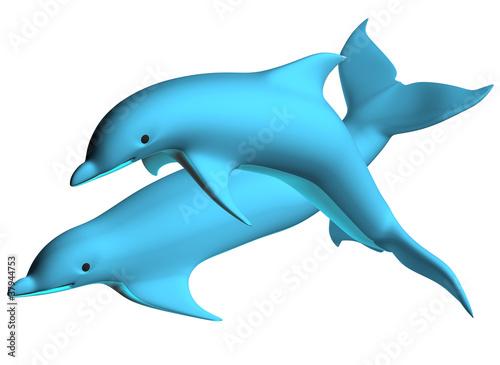 Staande foto Dolfijnen Dolphin 02