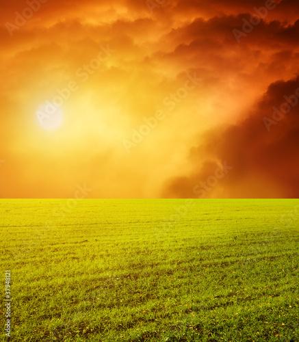 beautiful sunset - 37948121