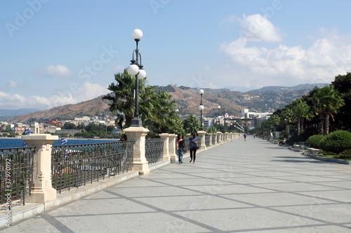 Carta da parati Uferpromenade in Reggio di Calabria