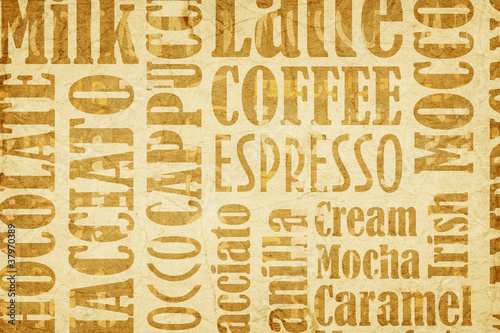 Gotowanie na kawowym tle