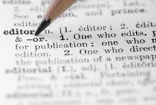 Editor Definition In English Dictionary.