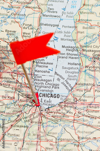 Pin pointing Chicago on map in atlas - Buy this stock photo ... on chicago city, chicago on media, chicago blue line map, chicago illinois, chicago street map, chicago attractions, seattle map, chicago area map suburbs, chicago united states map, lincoln park chicago map, chicago neighborhoods, north chicago il map, chicago usa map, chicago home, philadelphia map, crystal lake chicago map, chicago highlights, san francisco bus map, chicago airport map,