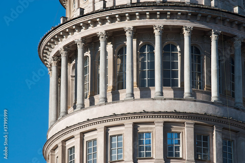 Fototapeta novara- cupola di San Gaudenzio obraz