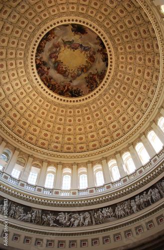 United States Capitol Rotunda Wallpaper Mural