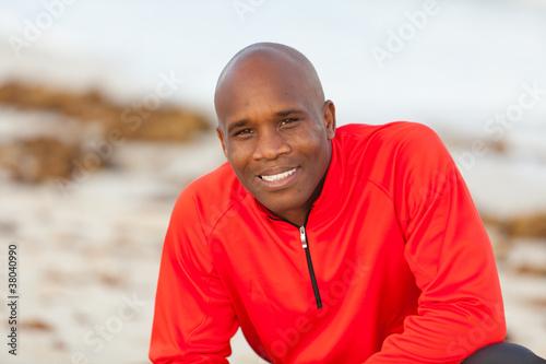 Fotografie, Obraz  Handsome Man Outdoor Portrait in Miami South Beach