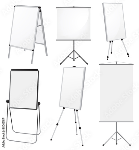 Blank Promotion Stand set