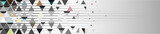 Fototapeta Abstract - Triangle abstract vector banner