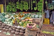 Karunagapally, Kerala - Mercato Di Strada
