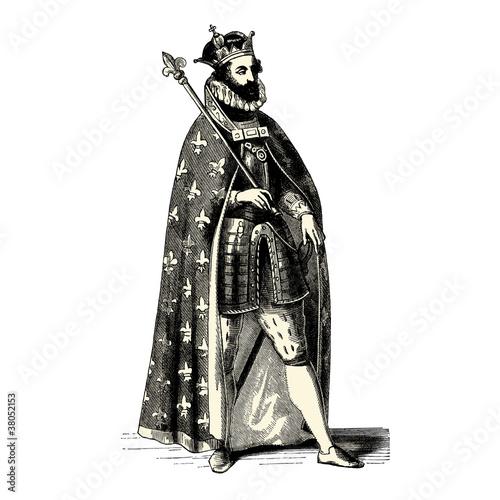 Roi de France Canvas-taulu