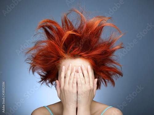 Fotografie, Obraz  Bad hair day