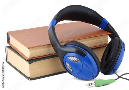 Fotografia, Obraz  Audio book concept