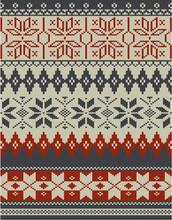 Nordic Knitting Pattern