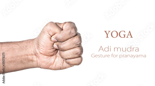 Yoga Adi mudra Tablou Canvas