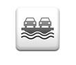 Boton cuadrado blanco simbolo ferry