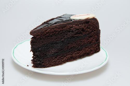 Sacher chocolate cake Poster