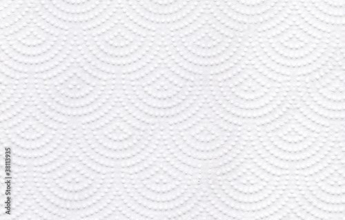 Fényképezés  Texture of white tissue paper