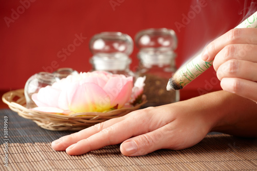 Valokuva  Professional  moxa sticks