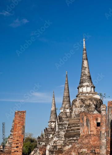 Spoed Foto op Canvas Bedehuis old pagoda