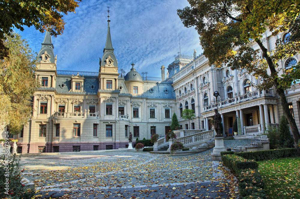 Fototapety, obrazy: Pałac Poznańskich w Łodzi
