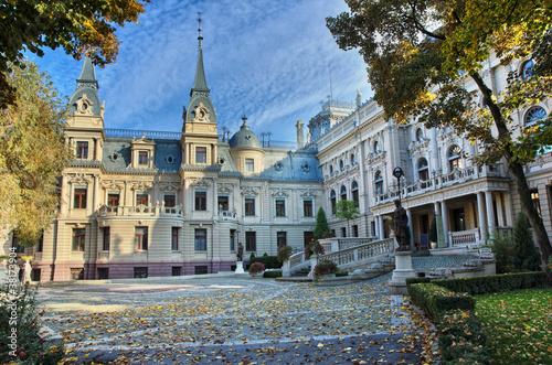 Obraz Pałac Poznańskich w Łodzi - fototapety do salonu