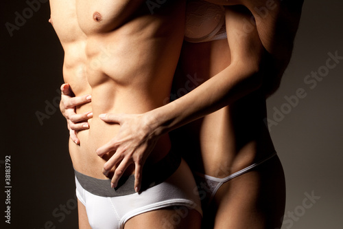 Foto  Torsos Of Sexy Couple