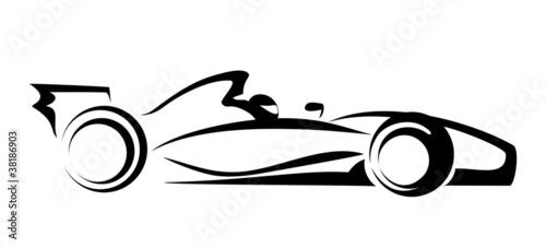 Foto op Canvas F1 formula 1