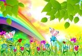 Fototapeta Kwiaty - wiosna