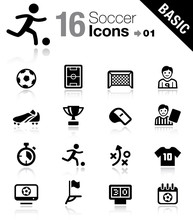 Basic - Soccer Icons