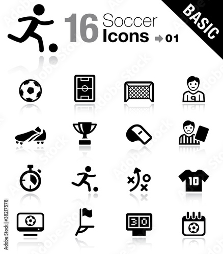 Photo Basic - Soccer Icons