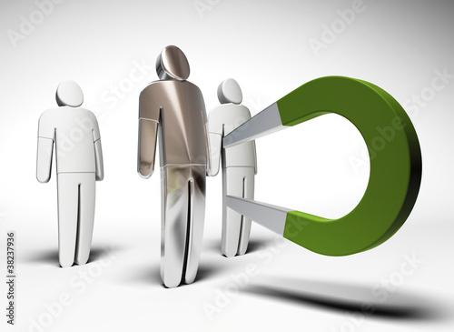 Fotografia  attirer le client - outil de marketing direct