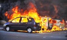 Riots - Cars Burning