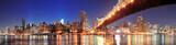 Fototapeta Nowy Jork - Queensboro Bridge and Manhattan