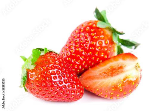 Staande foto Vruchten strawberries