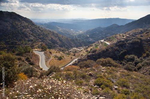 Trodos mountains. Cyprus.