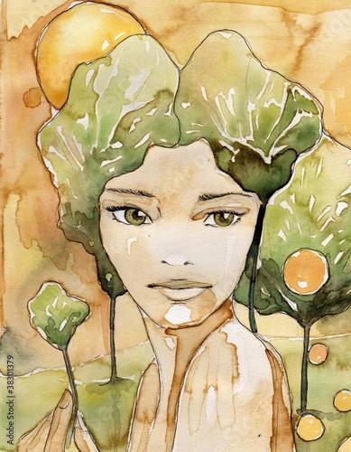 abstrakcyjny-portret-pieknej-kobiety