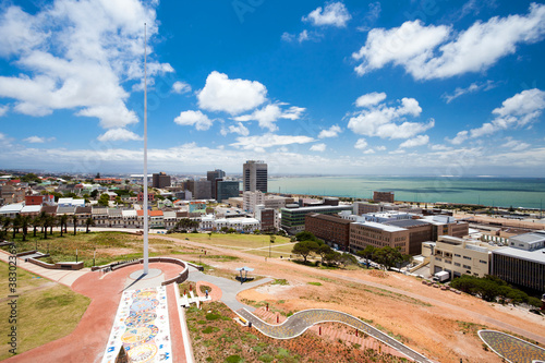 Poster Afrique du Sud city view of Port Elizabeth, South Africa