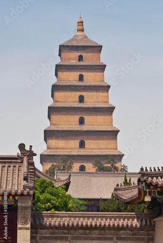 Papiers peints Xian Giant Wild Goose Pagoda, Xian, China