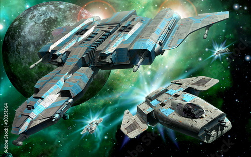 statki-kosmiczne-i-ksiezyc