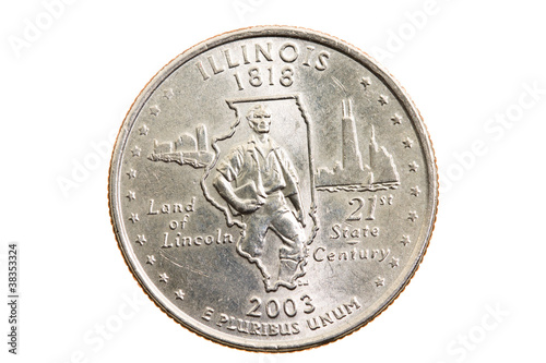 Fotografia  Coin  ( isolated)