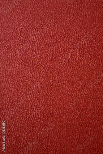 red leather - 38383180