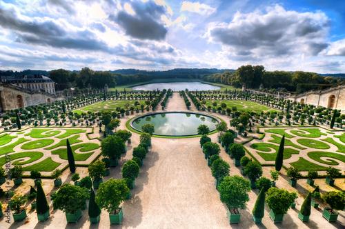 In de dag Parijs Versailles Gardens