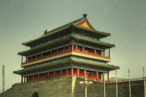 Foto op Aluminium Beijing Beijing (Peking), China Forbidden City (Verbotene Stadt)