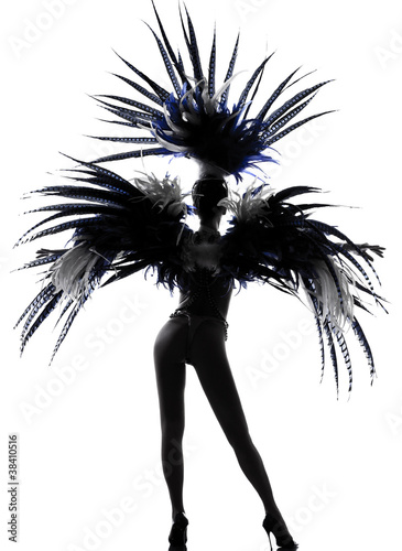 Foto showgirl woman revue dancer dancing