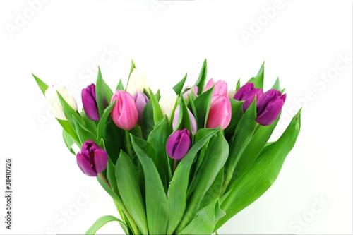 Foto op Plexiglas Tulp A bouquet tulips