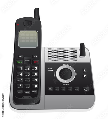 Obraz cordless phone - fototapety do salonu