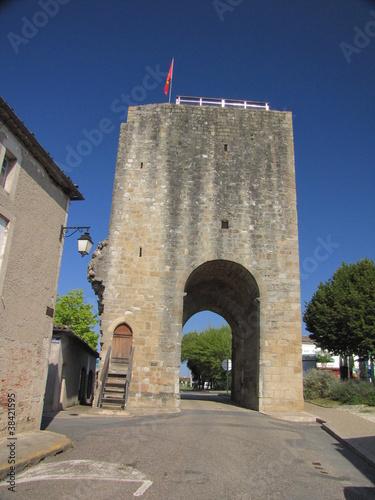Stampa su Tela Sauveterre-de-Guyenne ; Gironde ; Aquitaine