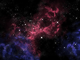 Fototapeta Wieloczęściowe Orion in the universe