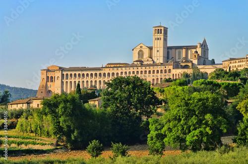 Assisi 10 Canvas Print